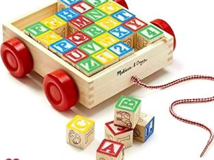 WOODEN ABC BLOCKS FOR KIDS AND BABIES