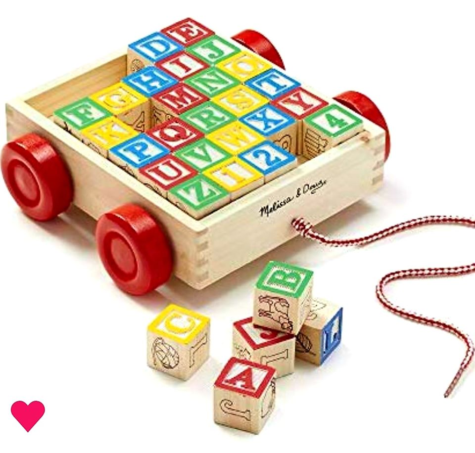 Wooden ABC Blocks – Kids and Babies