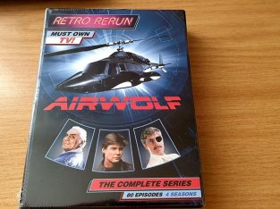 Airwolf Complete Boxset – 4 Complete Seasons