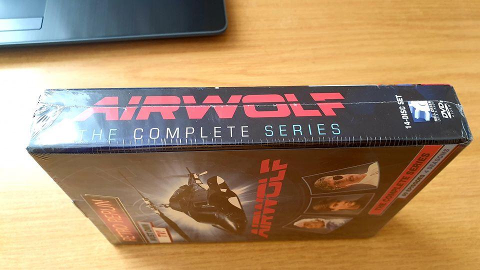 Airwolf Complete Boxset – 4 Complete Seasons