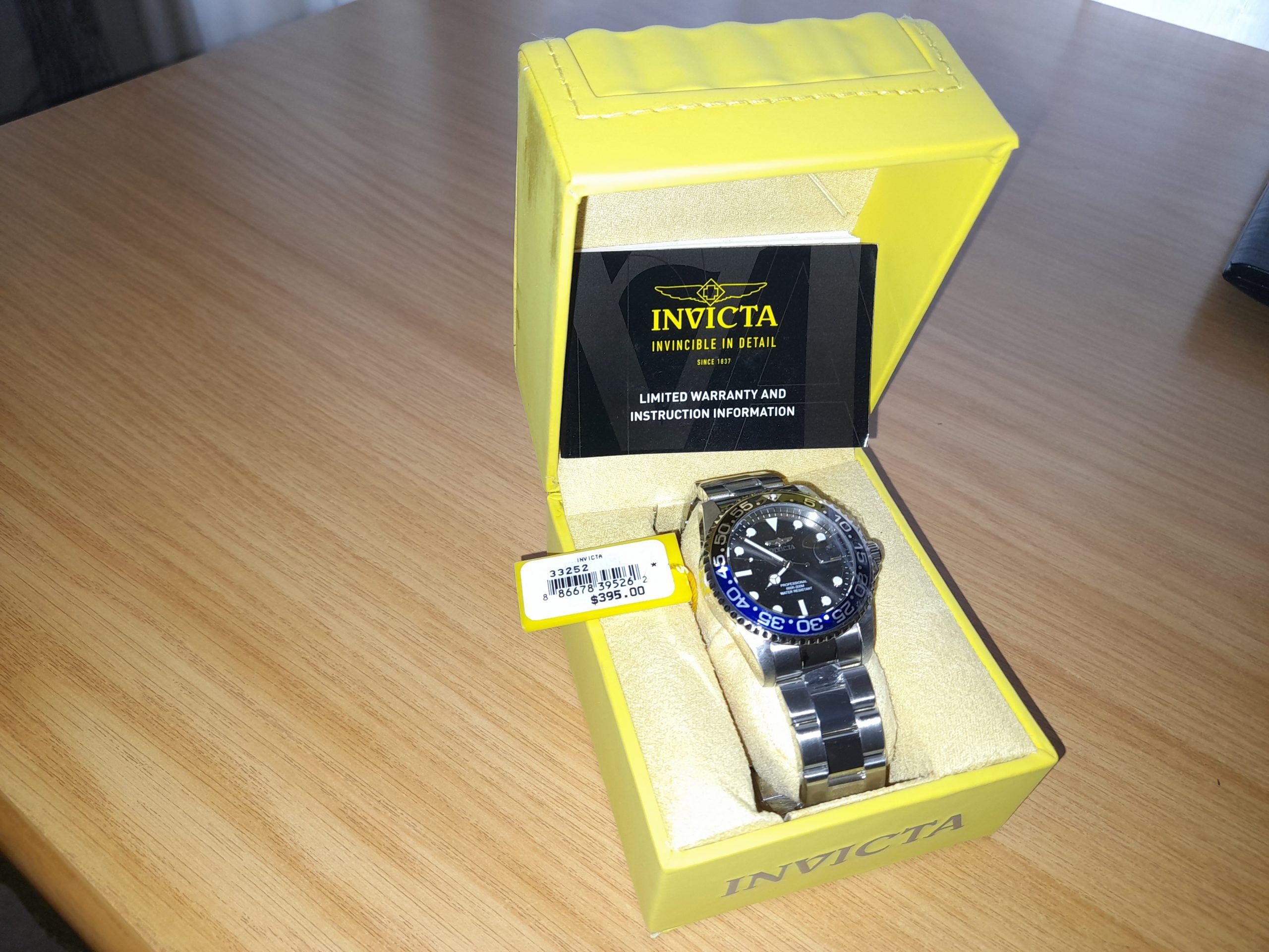 Invicta Batman Pro Diver New Watch for Sale