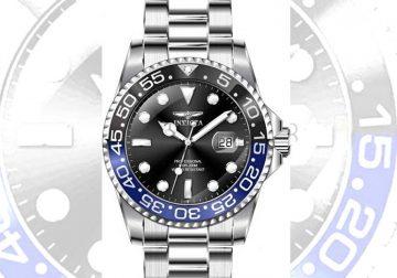 Invicta Pro Diver Batman Bezel Watch