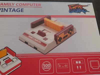Old TV Games Console for sale