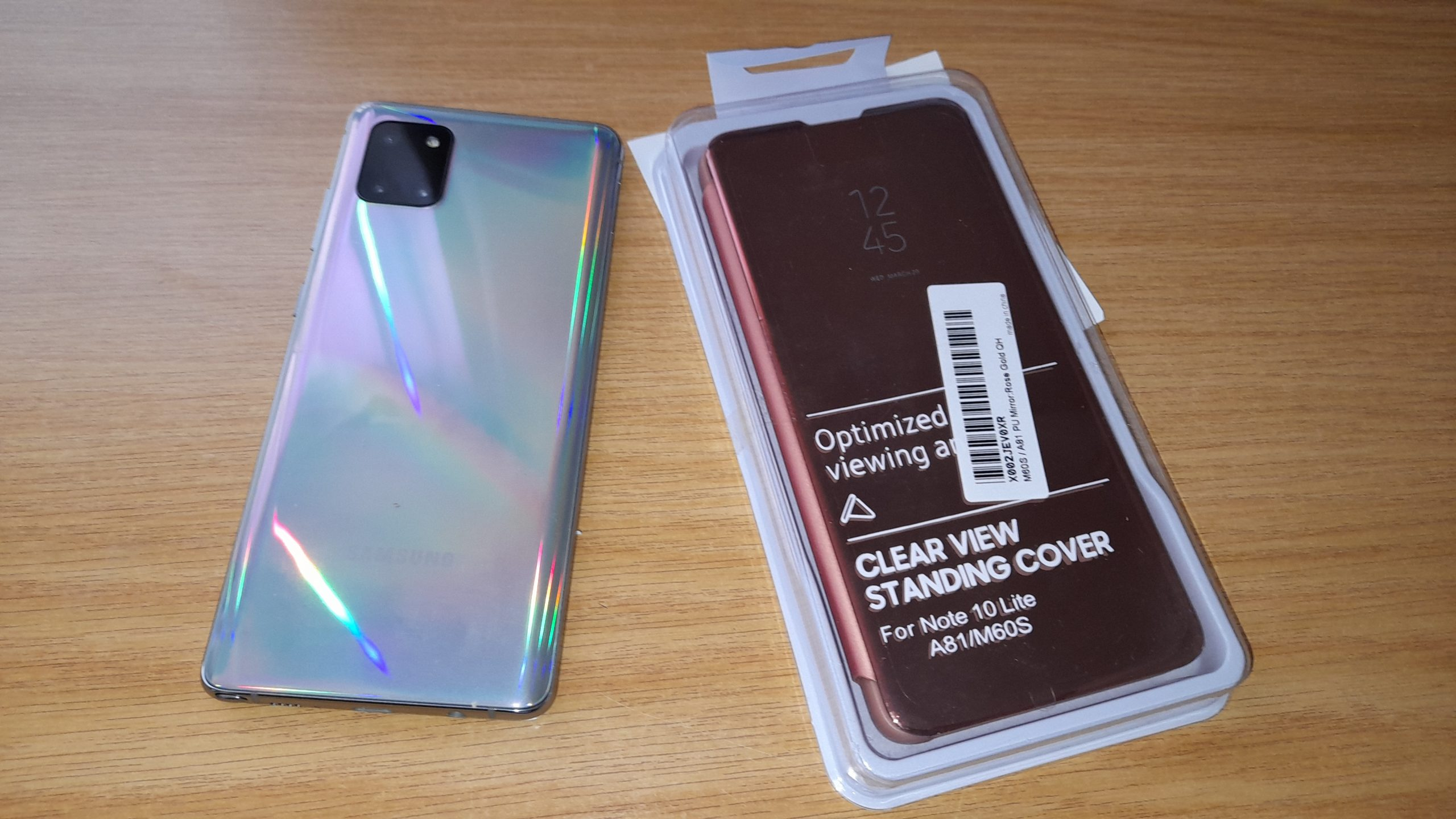 Folding Cover for Samsung Galaxy Note 10 Lite