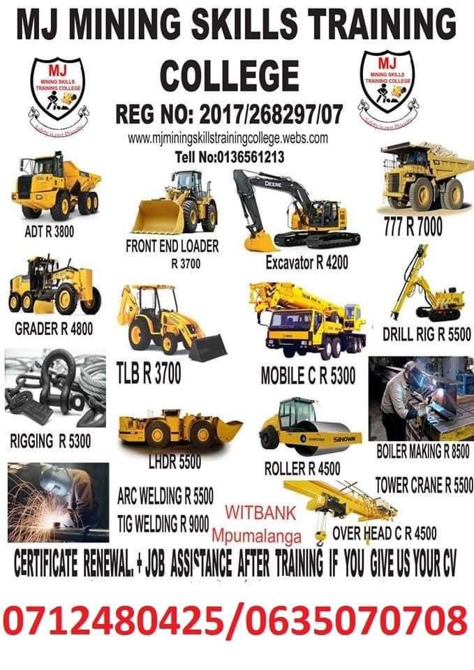 Mining Skills Training in South Africa