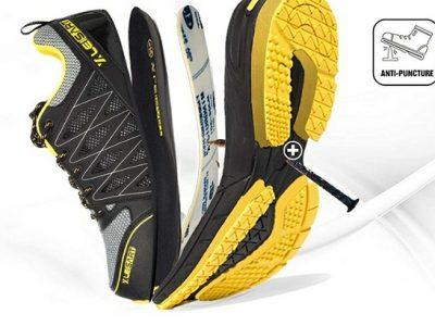 Leisart Takkie Steel Toe Safety Shoe