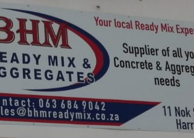 Ready Mix Concrete Supplier in Harrismith