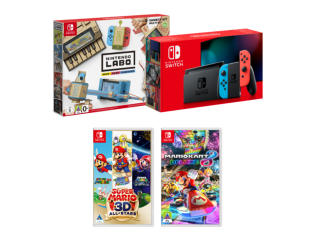 Nintendo Switch, Labo and Super Mario Bundle