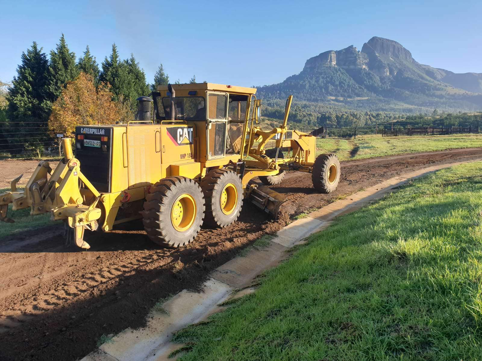Plant Hire in KZN and Free State