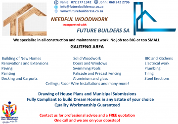 Needful Wood Work/Future Builders SA