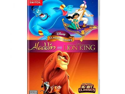 Aladdin and Lion King Nintendo Switch for sale