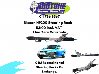 Nissan NP200 – OEM Reconditioned Steering Racks