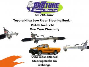 Toyota Hilux Low Rider – OEM Recon. Steering Racks