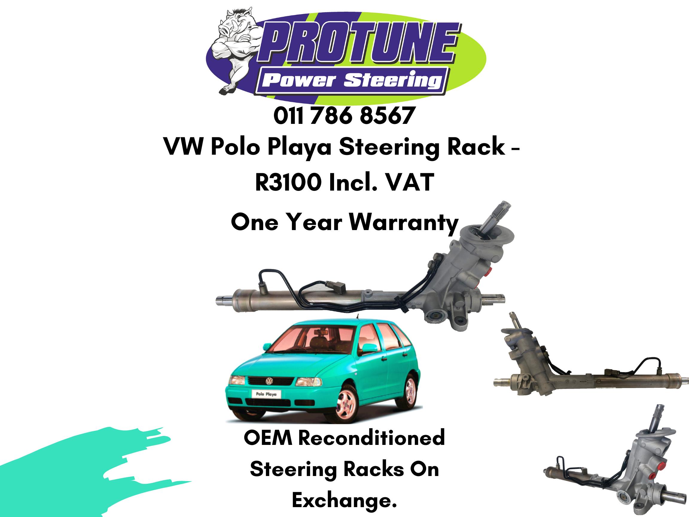 VW Polo Playa – OEM Reconditioned Steering Racks