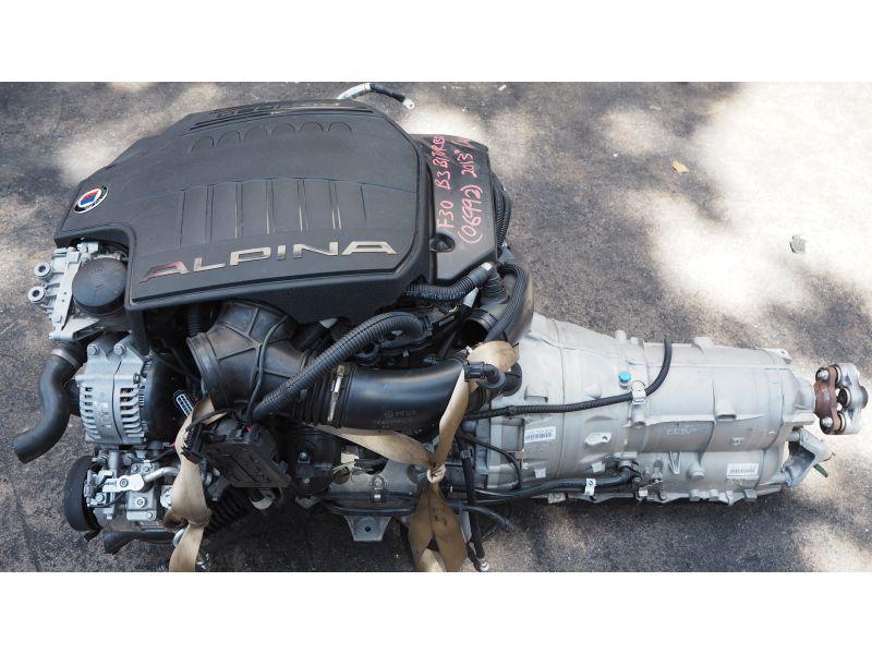 BMW F30 B3 ALPINA BITURBO N55R 20A 3.0L ENGINE