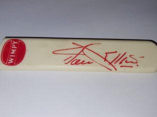 Jacques Kallis | Wimpy Collectible Bat and Stumps