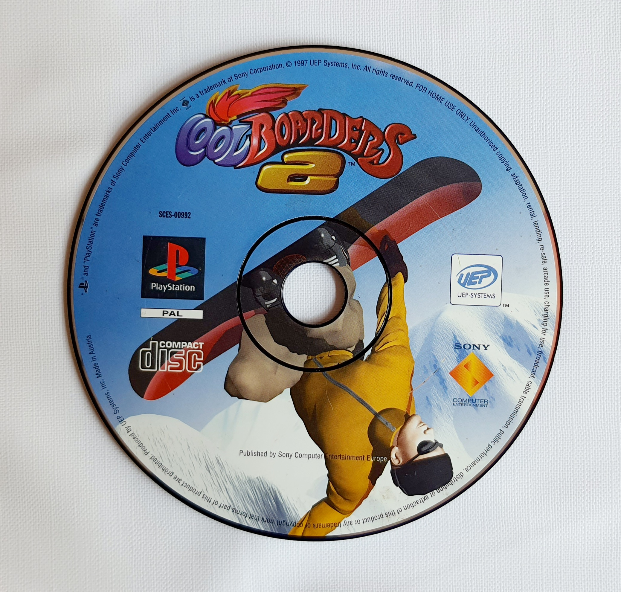 Cool Boarders 2   Playstation 1