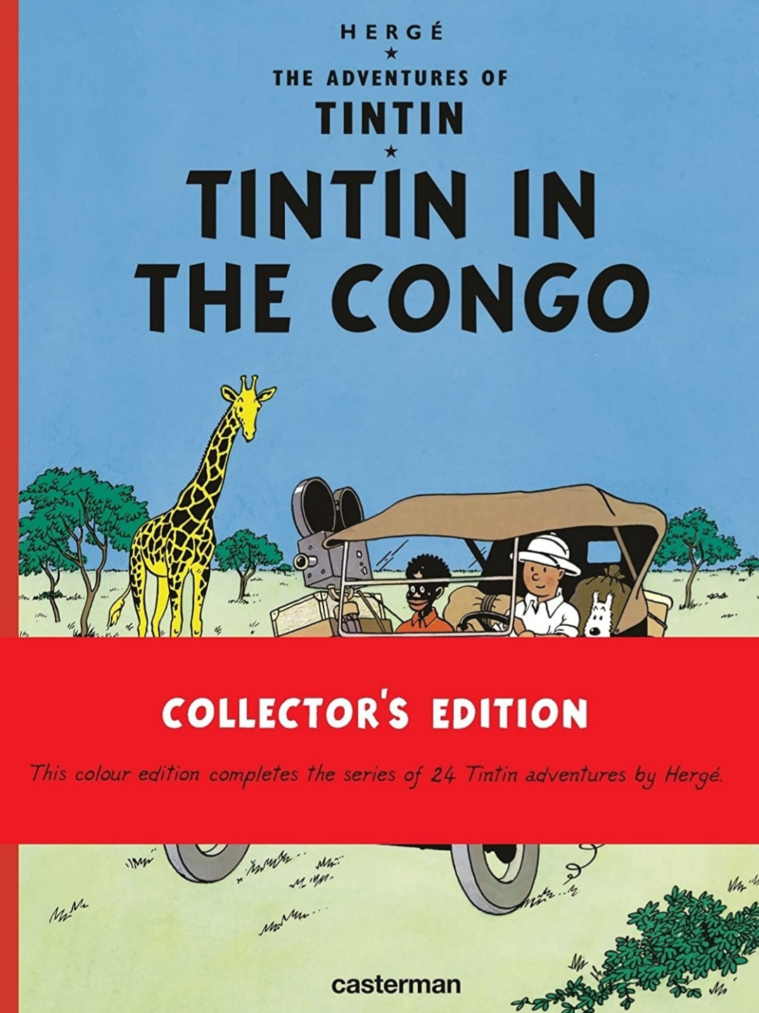Tintin in the Congo   Hardcover