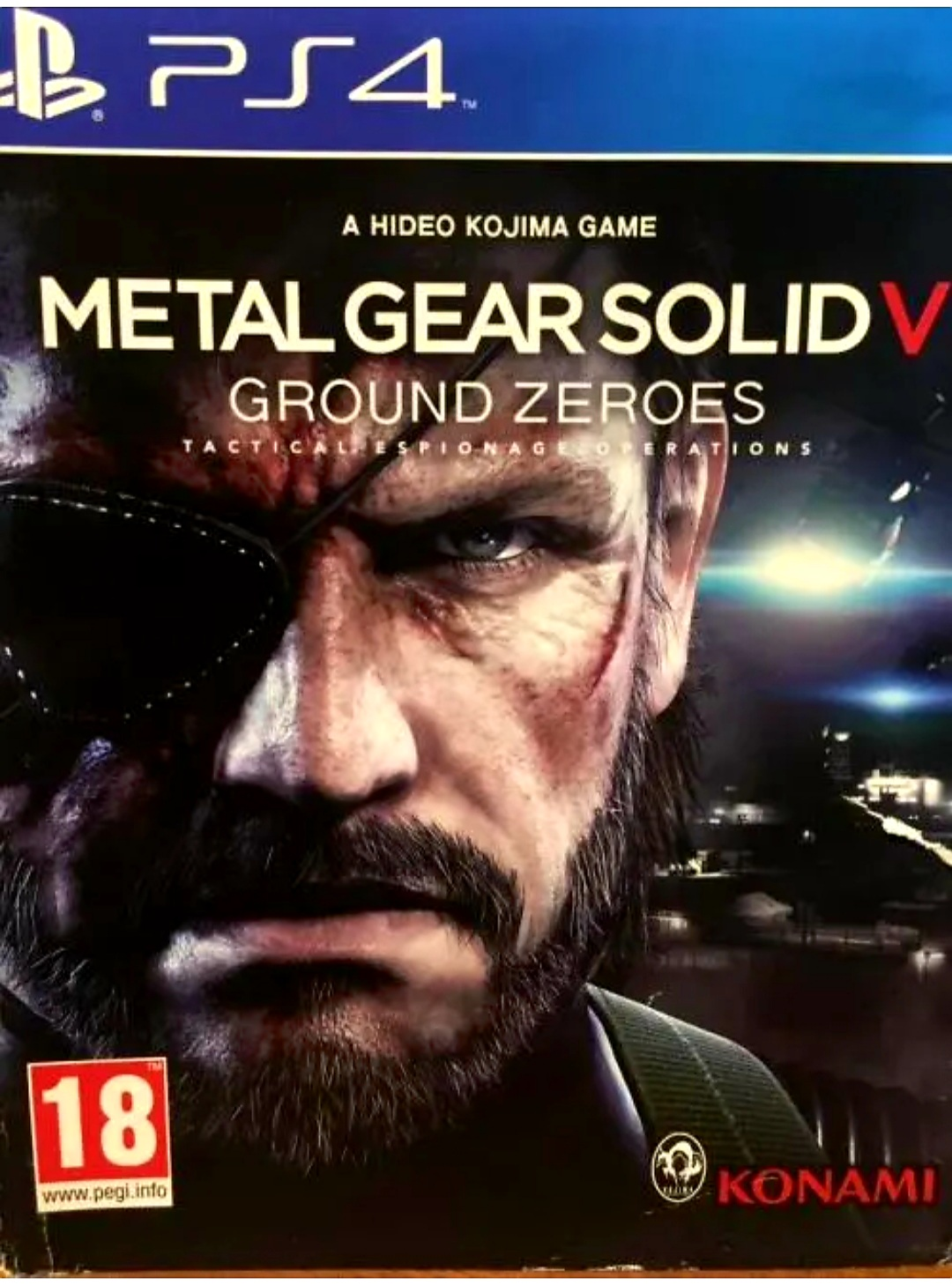 Metal Gear Solid V: Ground Zeroes | Playstation 4