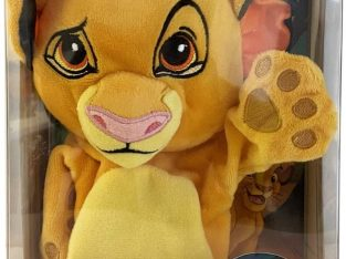 Disney | The Lion King | Book and Hand Puppet