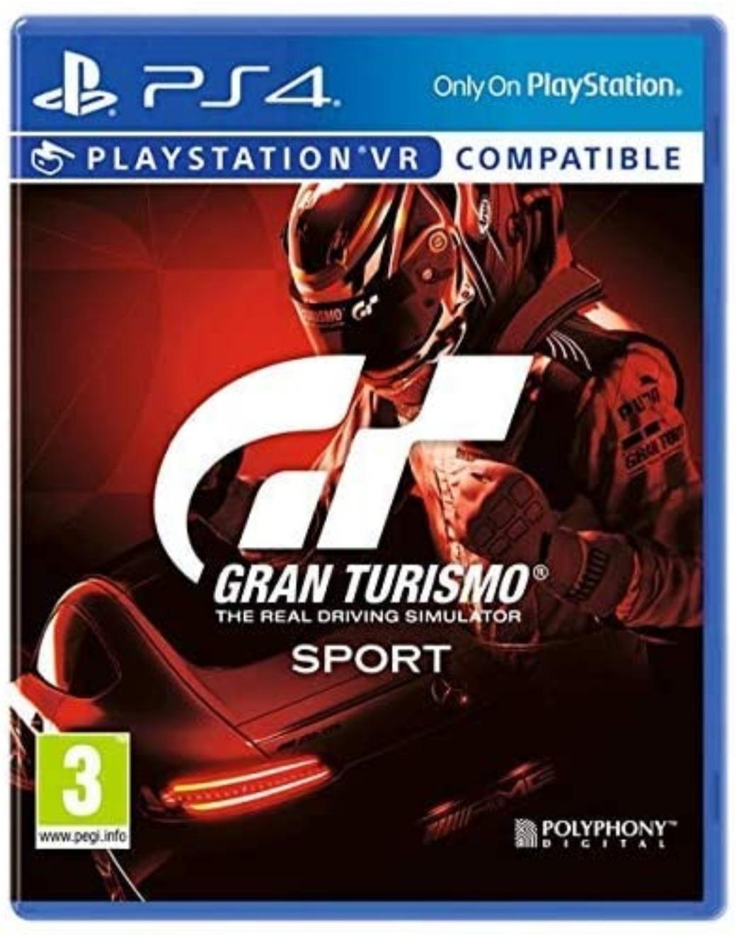 Gran Turismo: Sport   VR   Playstation 4
