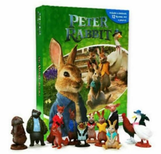 Peter Rabbit   My Busy Book   Playmat   12 Figures