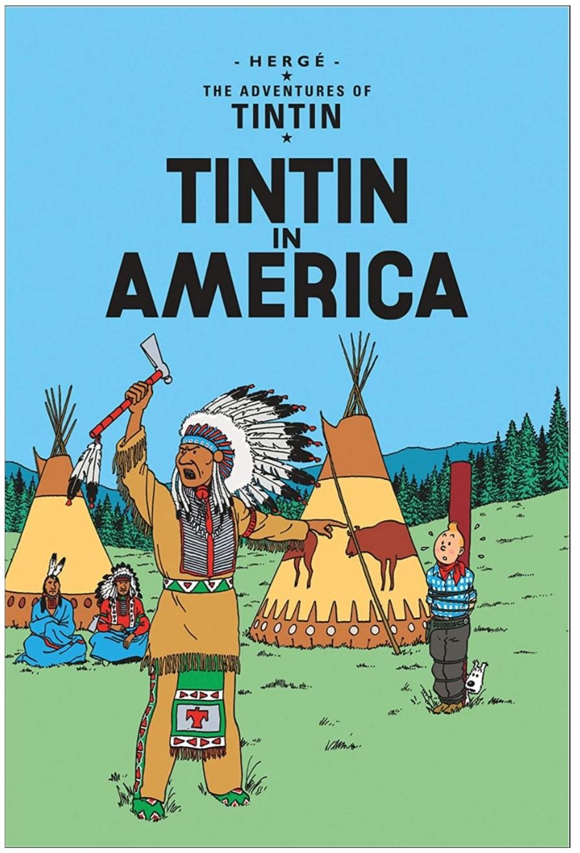 Tintin in America   Hardcover
