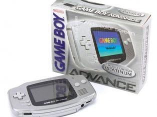 Gameboy Advance | Limited Edition Platinum